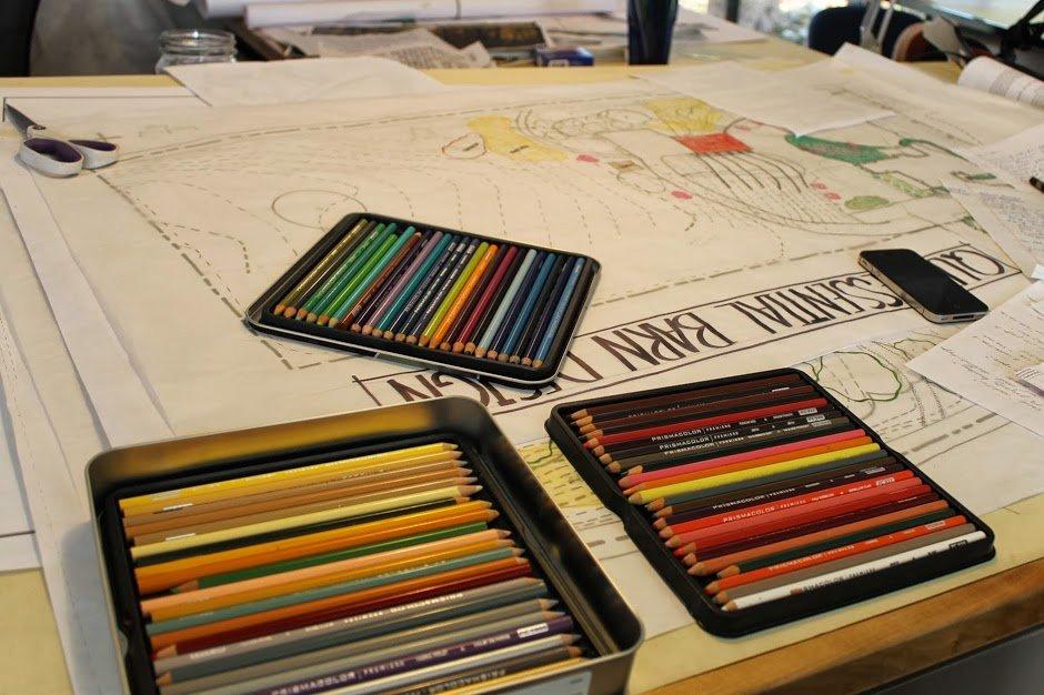 Conway School Studio Desk