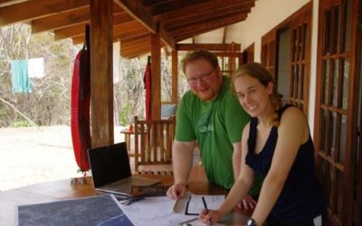 Picture of Dave and Kate in Costa Rica