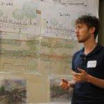 Jordan explains options for a multi-modal trail in Hopkinton, MA.