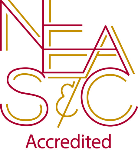 Conway is accredited by the New England Association of Schools and Colleges, Inc.